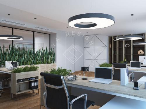 """Дизайн офиса в ЖК """" Бартоломео"""" - 32"""