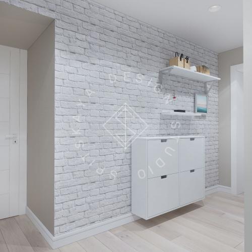 Дизайн проект небольшой квартиры - 8