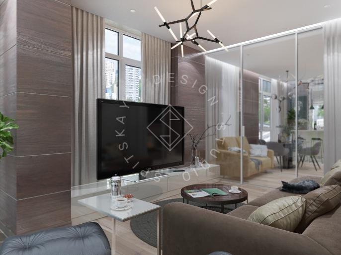 Дизайн трехкомнатной квартиры новом доме