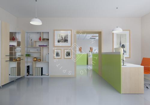 Дизайн офиса компании Восток газ г. Днепр - 3