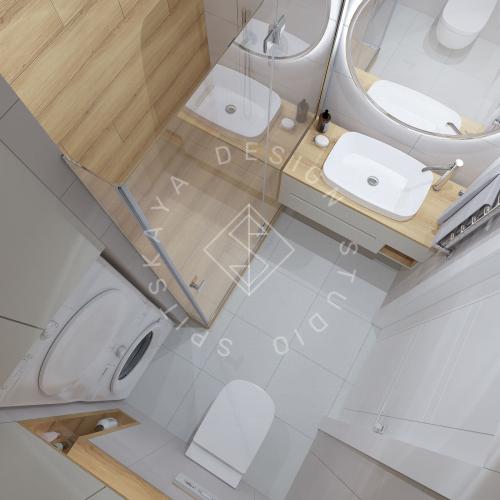Дизайн проект квартиры в ЖК Республика - 21