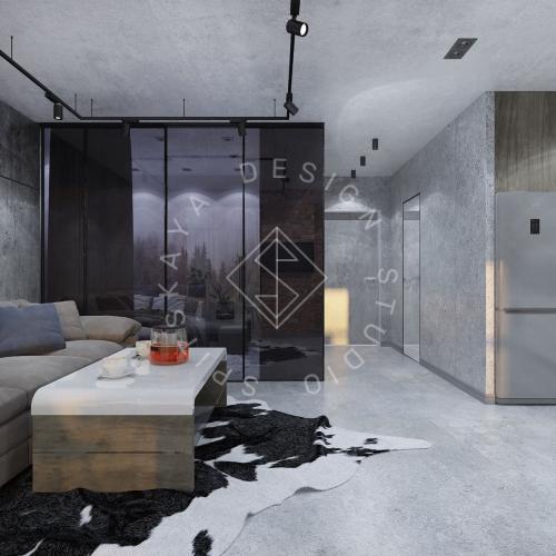 """Дизайн интерьера квартиры в стиле """"LOFT"""" ЖК """"RIVER PARK"""" - 11"""