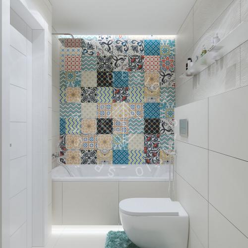 Дизайн проект небольшой квартиры - 21