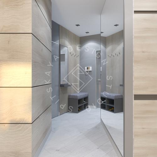 Дизайн интерьера квартиры в ЖК Чкаловский - 7