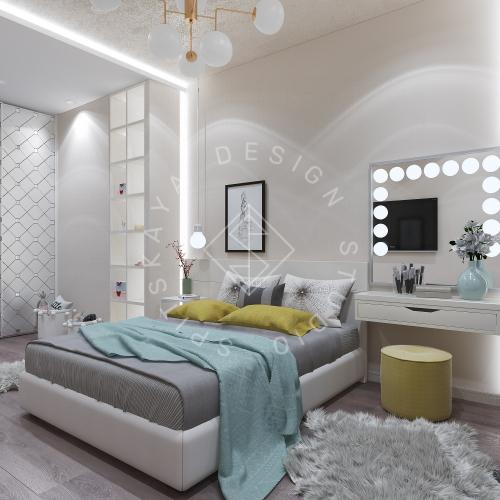 Дизайн интерьера квартиры в ЖК Comfort City Lux - 43