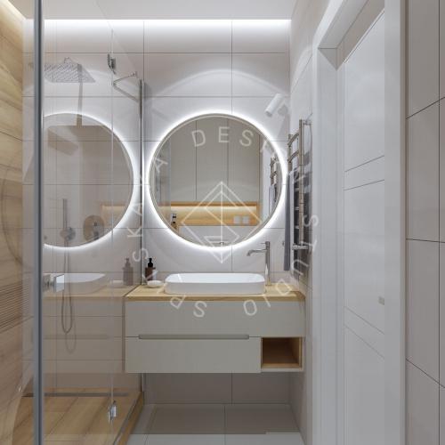 Дизайн проект квартиры в ЖК Республика - 23