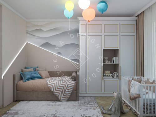 Дизайн проект интерьера жилого дома - 15