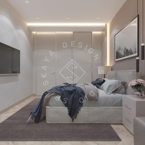 Дизайн квартиры 120 м2 - 29