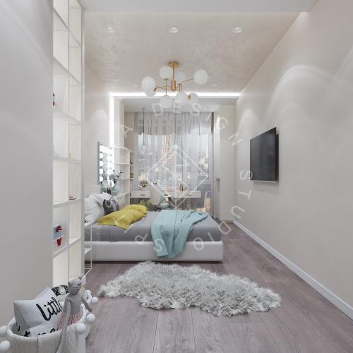 Дизайн интерьера квартиры в ЖК Comfort City Lux - 41