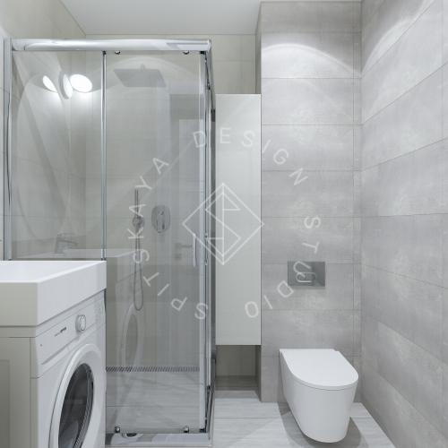 Дизайн однокомнатной квартиры в г. Грузия - 11