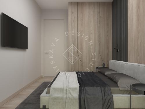 Дизайн интерьера квартиры в ЖК Грани - 22