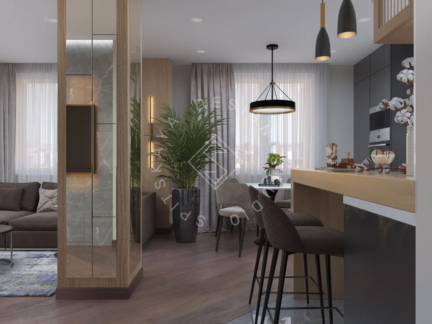 Дизайн интерьера квартиры г. Харьков