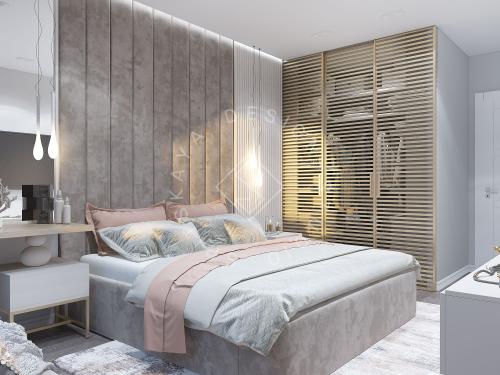 Дизайн проект квартиры в ЖК Республика - 18