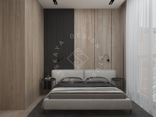Дизайн интерьера квартиры в ЖК Грани - 23