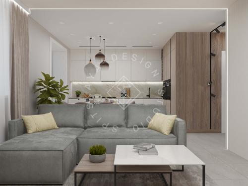 Дизайн квартиры в ЖК Счастливый - 10