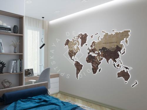 Дизайн проект интерьера жилого дома - 23