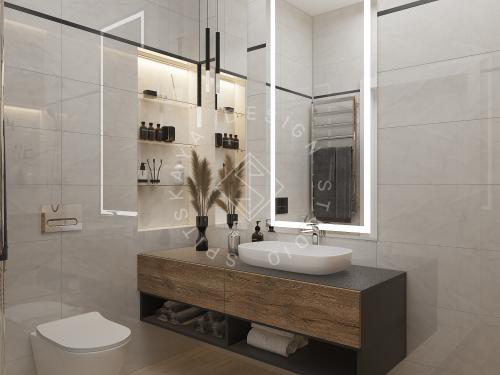 Дизайн интерьера квартиры в ЖК Грани - 15