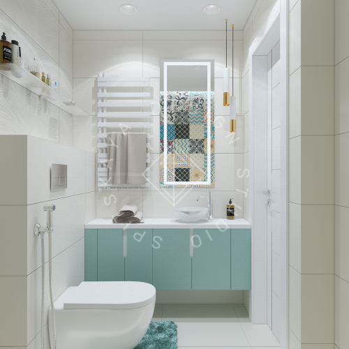 Дизайн проект небольшой квартиры - 22