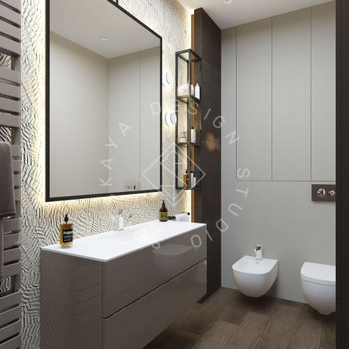 "Дизайн проект квартиры в ЖК ""Bartolomeo Resort Town"" - 21"