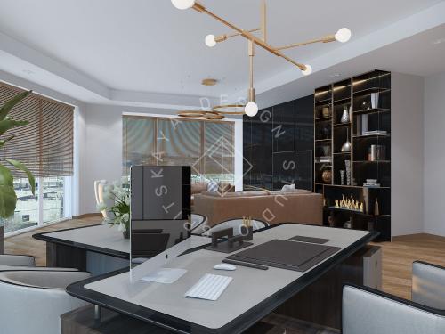 """Дизайн офиса в ЖК """" Бартоломео"""" - 15"""