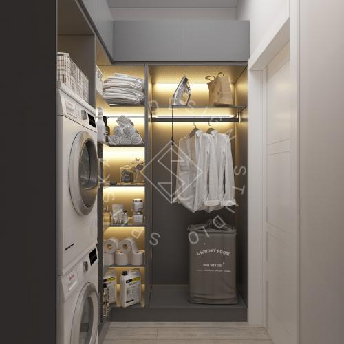 Дизайн интерьера квартиры в ЖК Грани - 14