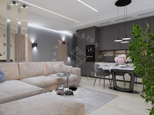 """Дизайн квартиры в ЖК """"River Park"""" - 10"""