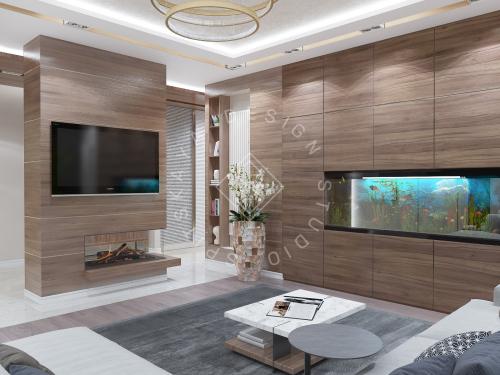 Дизайн интерьера квартиры в ЖК Comfort City Lux - 14