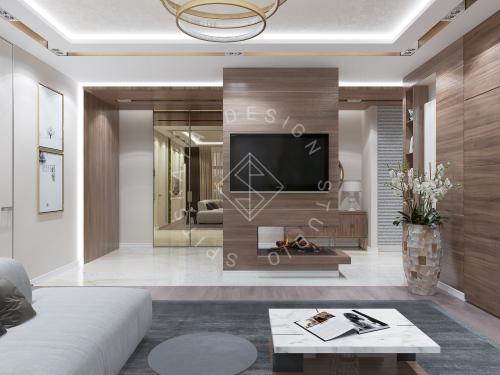 Дизайн интерьера квартиры в ЖК Comfort City Lux - 11