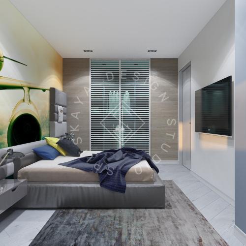 Дизайн интерьера квартиры в ЖК Чкаловский - 10