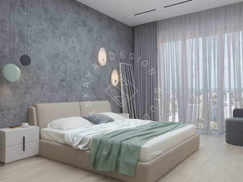 "Дизайн проект квартиры в ЖК ""Bartolomeo Resort Town"" - 16"