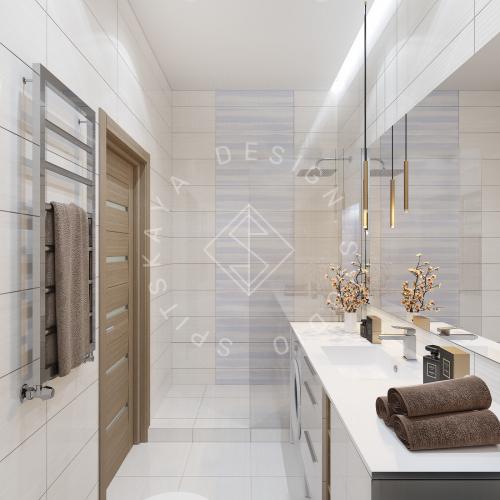 Дизайн интерьера квартиры под сдачу - 12