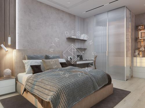 "Дизайн проект квартиры в ЖК ""Bartolomeo Resort Town"" - 37"