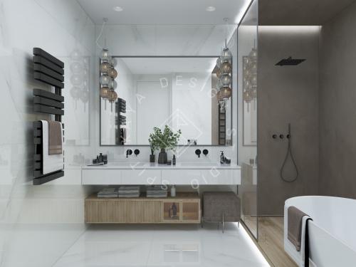 Дизайн интерьера жилого дома г. Днепр - 9