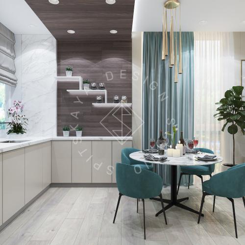 Дизайн квартиры в ЖК Панорама г. Днепр 2019г - 4