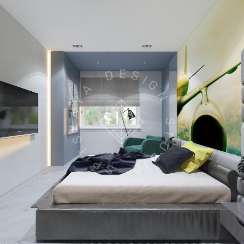 Дизайн интерьера квартиры в ЖК Чкаловский - 8
