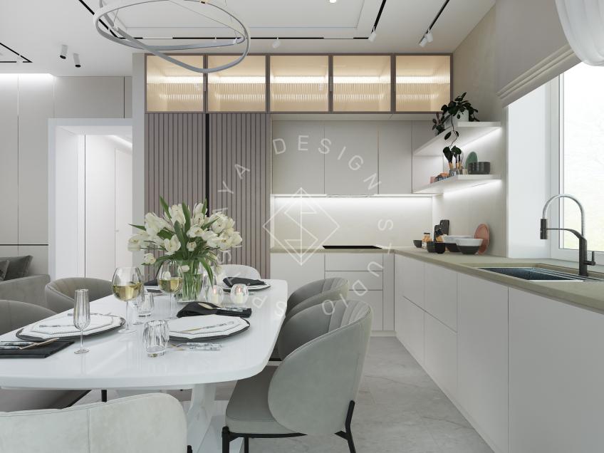 Дизайн интерьера жилого дома г. Днепр