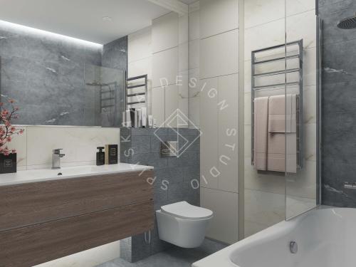 Дизайн квартиры в ЖК Счастливый - 23