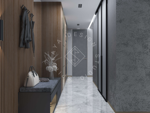 """Дизайн квартиры в ЖК """"Comfort City"""" - 15"""