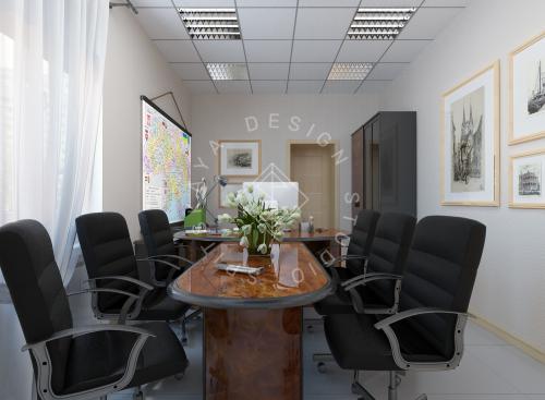 Дизайн офиса компании Восток газ г. Днепр - 2