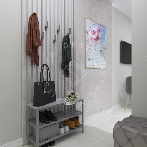 Дизайн однокомнатной квартиры в г. Грузия - 7