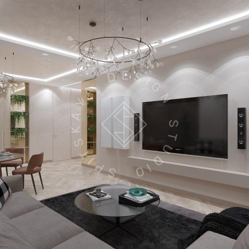 Дизайн квартиры 120 м2 - 10