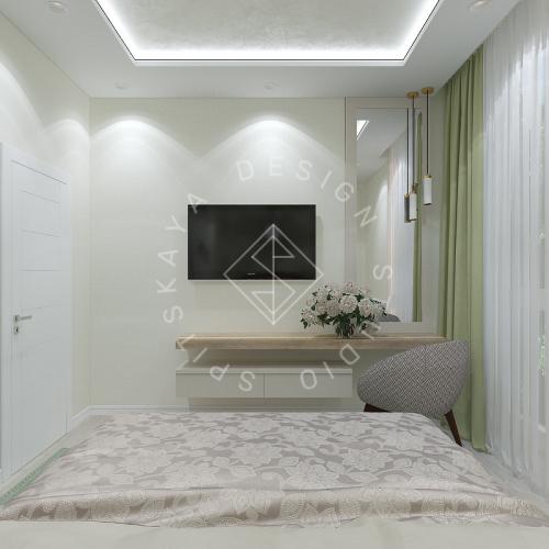 Дизайн квартиры в ЖК Панорама г. Днепр 2019г - 22