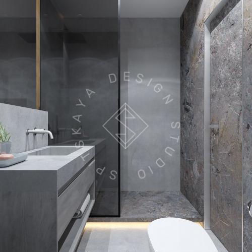 """Дизайн интерьера квартиры в стиле """"LOFT"""" ЖК """"RIVER PARK"""" - 16"""