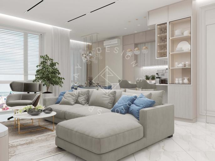 Квартира в ЖК Женева