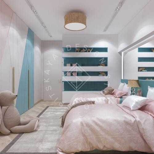 Дизайн квартиры 120 м2 - 17