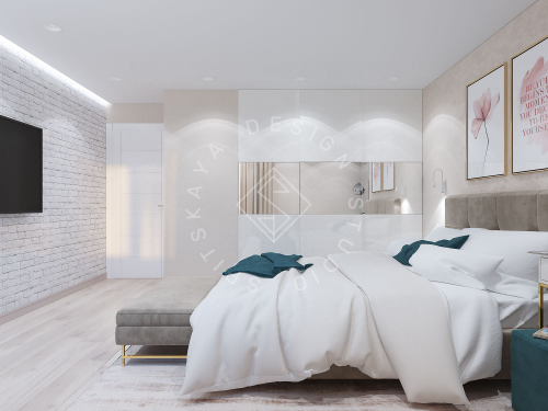 Дизайн проект небольшой квартиры - 17