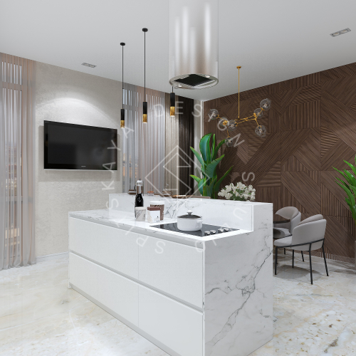 Дизайн интерьера квартиры в ЖК Comfort City Lux - 5