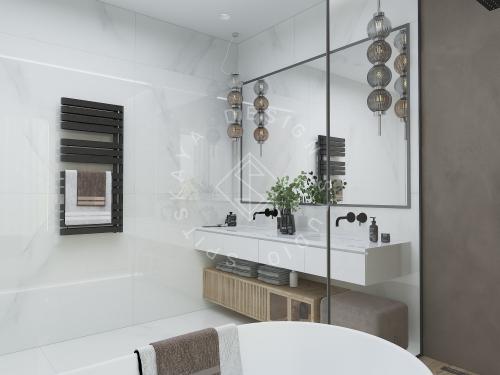 Дизайн интерьера жилого дома г. Днепр - 8
