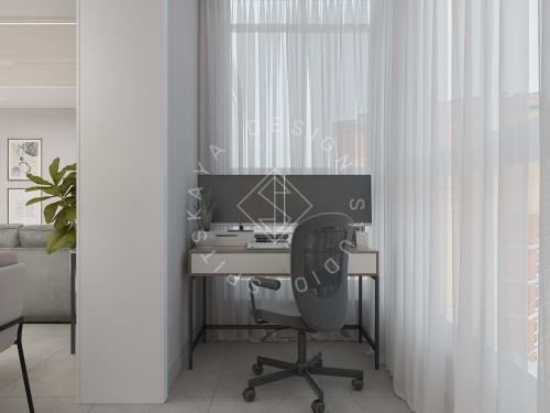 Дизайн квартиры в ЖК Счастливый - 12