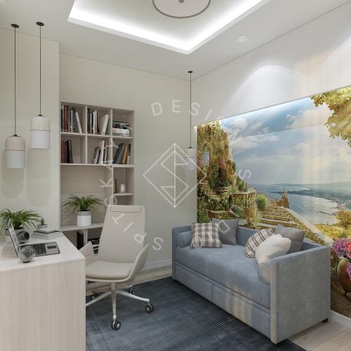 Дизайн квартиры в ЖК Панорама г. Днепр 2019г - 19